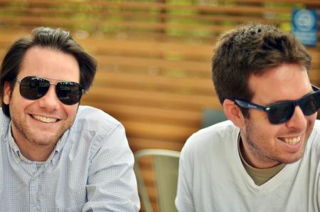 Spinnakr founders Michael Mayernick and Adam Bonnifield